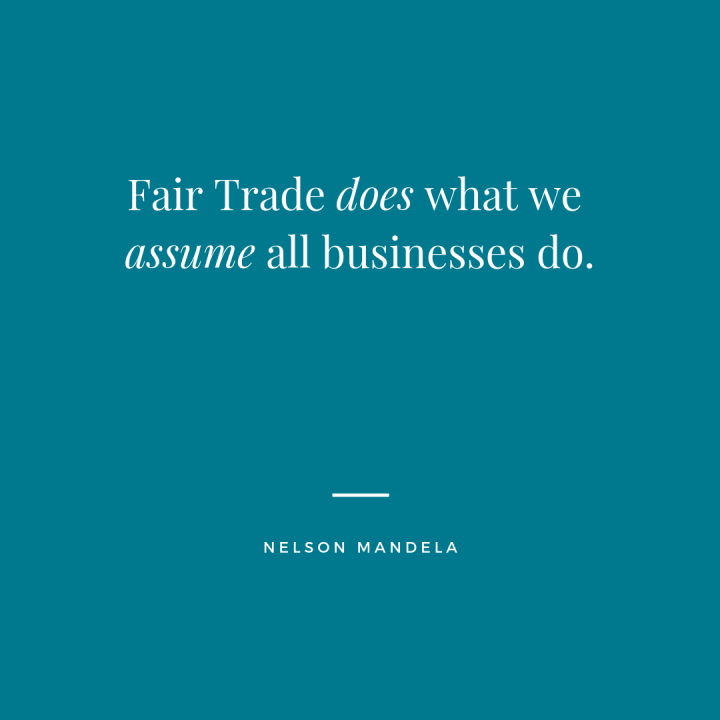 Fair Trade does what we assume all businesses do.