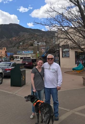 Shelby & Dad in Manitou 2019 | shelbyclarkeblog.com