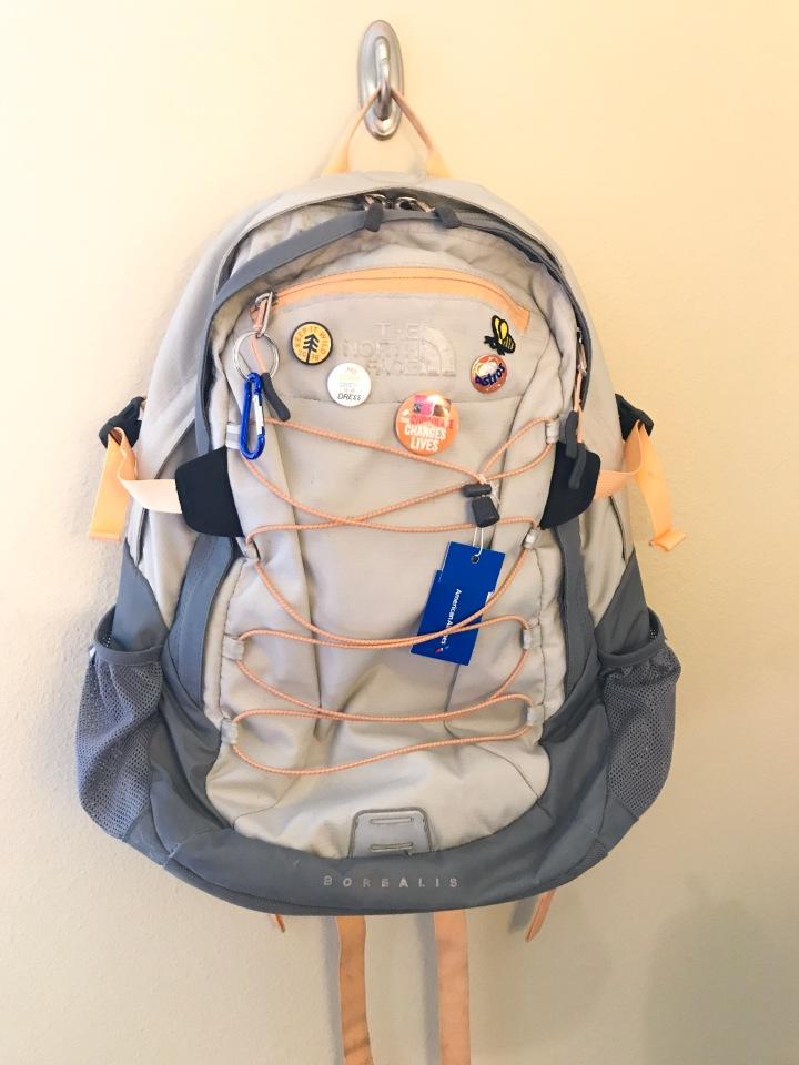 North Face Backpack | shelbyclarkeblog.com