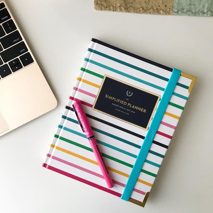 2018-2019 Simplified Weekly Planner | shelbyclarkeblog.com